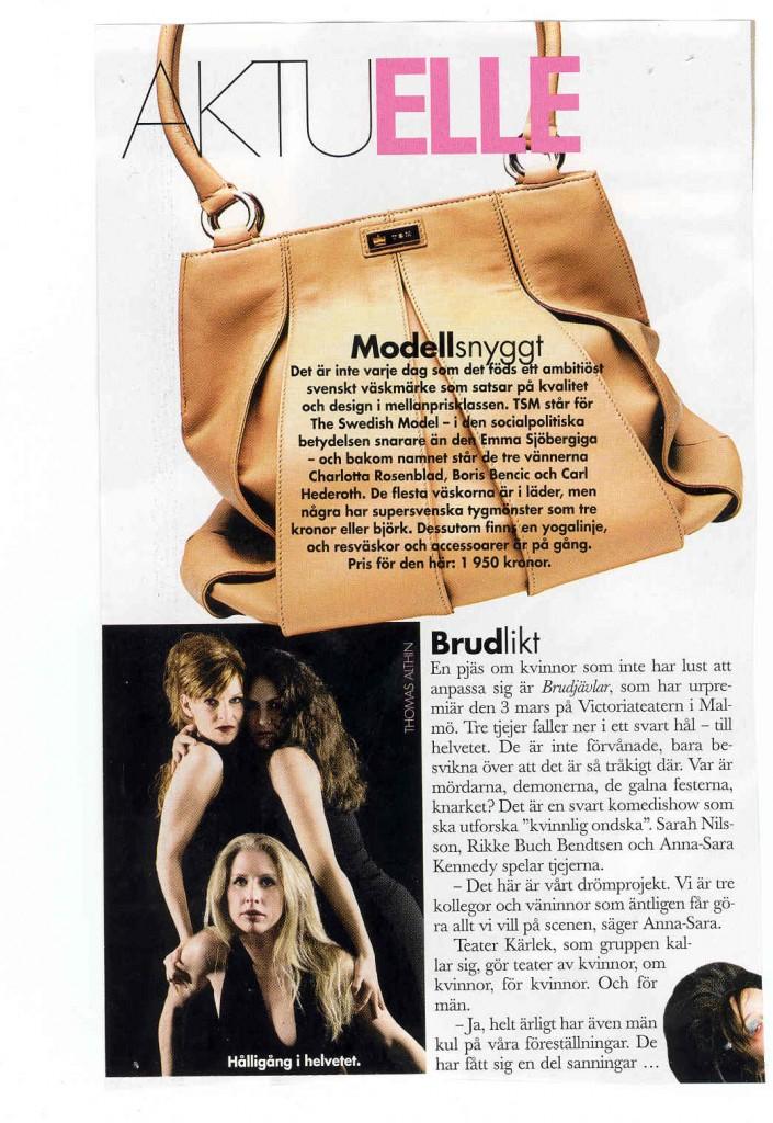 Artikel BrudJävlar Elle 2005